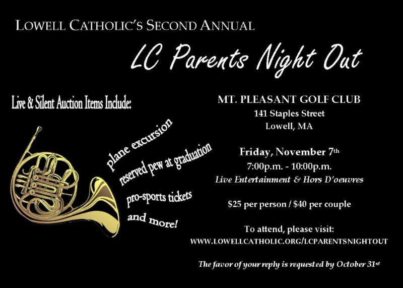 LC Parents' Night Out 2014