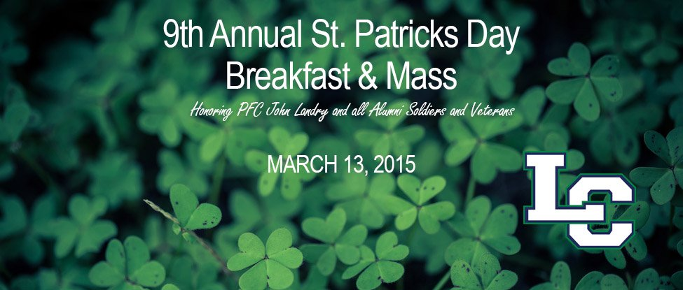 9th Annual St. Patrick's Day Family Breakfast